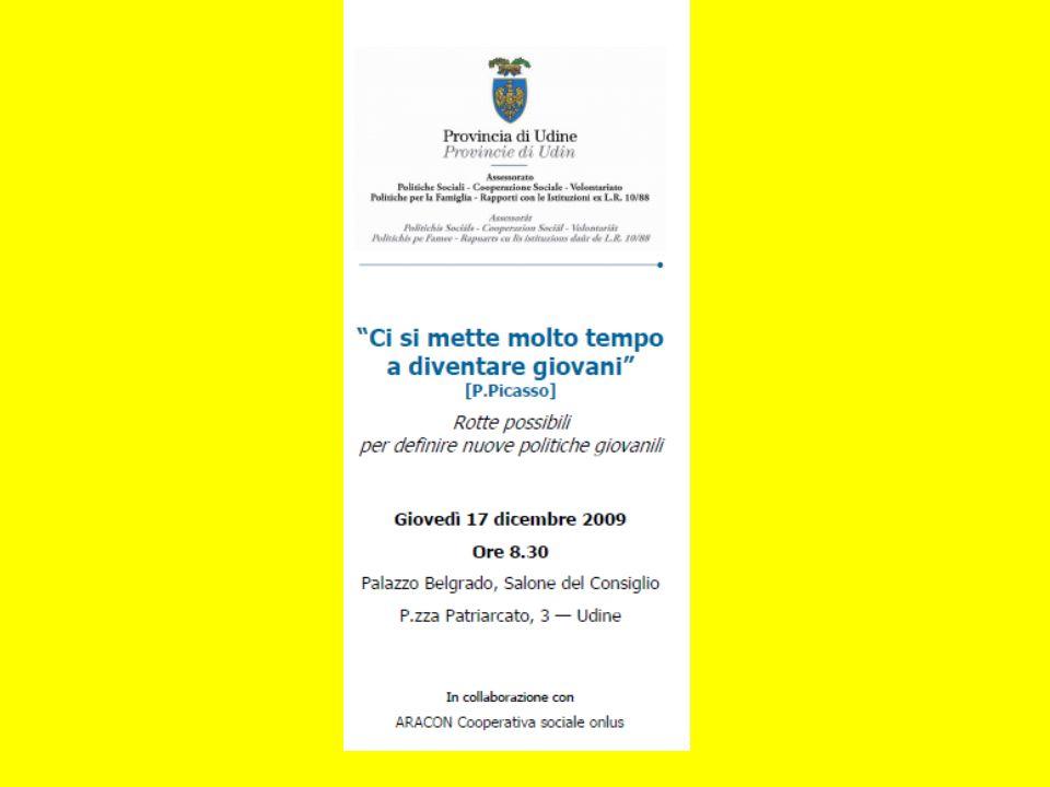Udine, 17 dicembre 09 Verso una nuova generazione di interventi di Giovanni Campagnoli