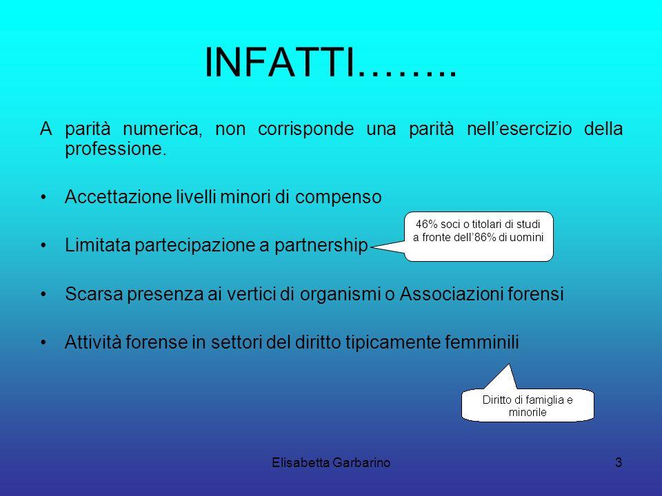Elisabetta Garbarino3 INFATTI……..
