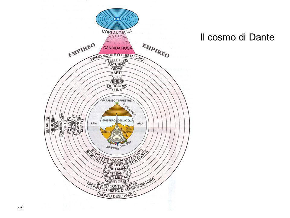 e.f. Il cosmo di Dante