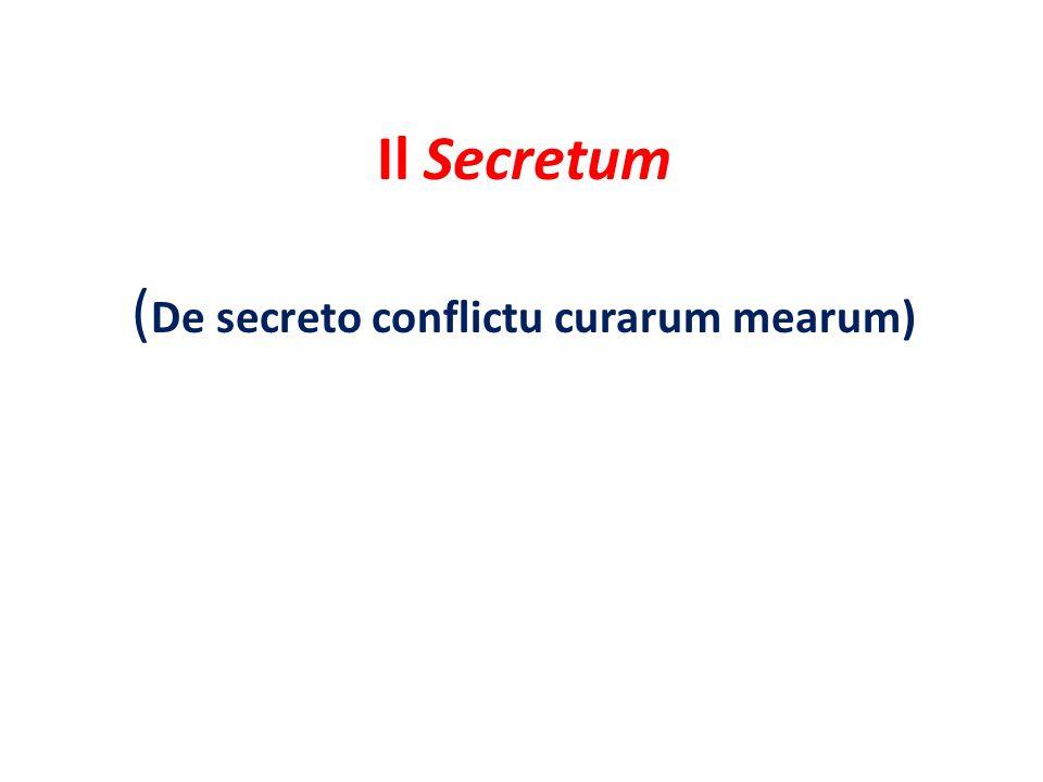 Il Secretum, di fondo, si presenta come un dialogo di Petrarca con se stesso: Francesco e Agostino altro non sono che due componenti, in contrapposizione tra di loro, della coscienza dellautore.
