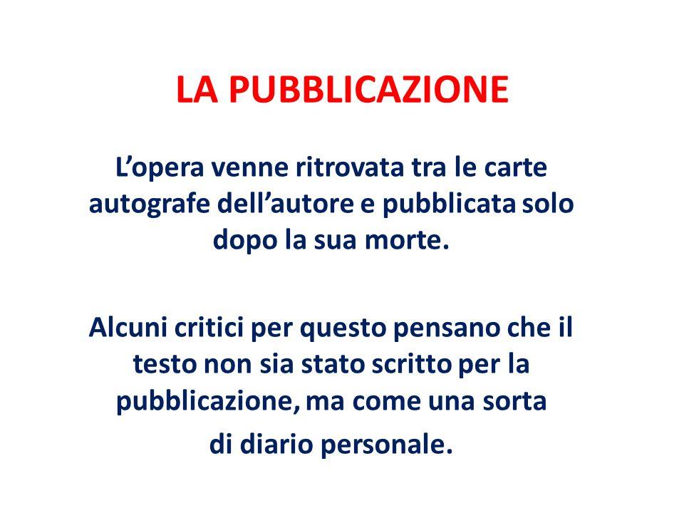 STRUTTURA E CONTENUTO Si tratta di un dialogo immaginario, in prosa latina, tra Petrarca e SantAgostino, che ricalca le modalità del dialogo tra penitente e confessore.