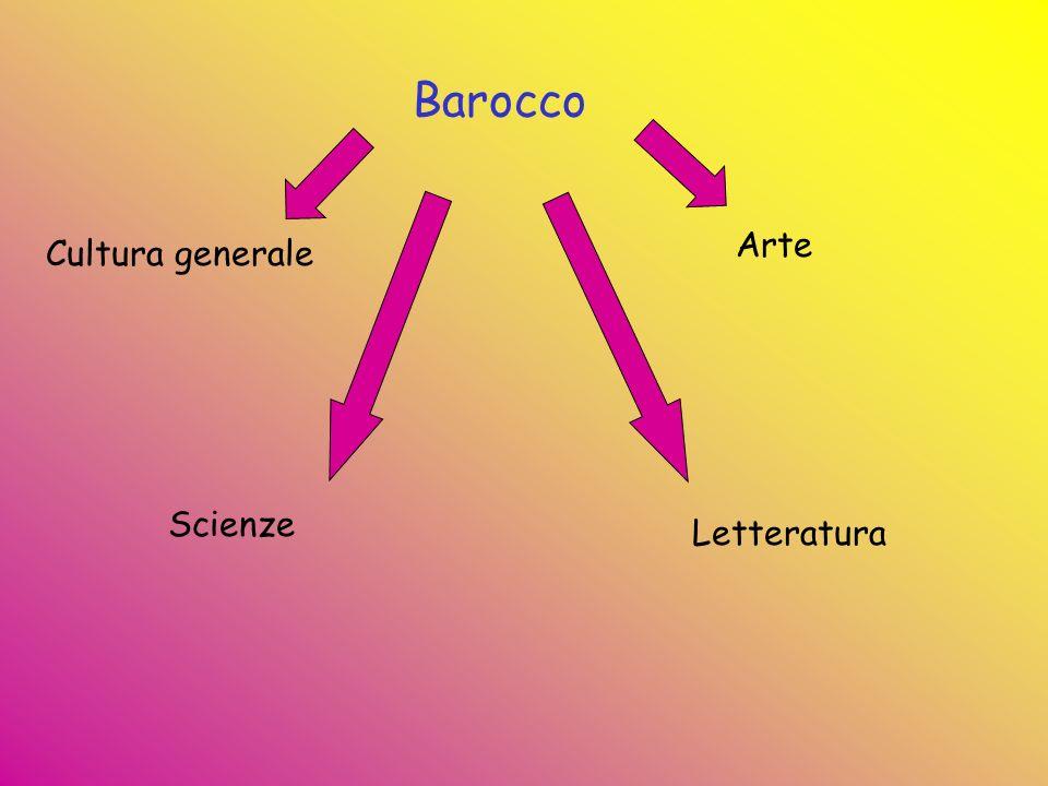 Barocco Cultura generale Scienze Letteratura Arte