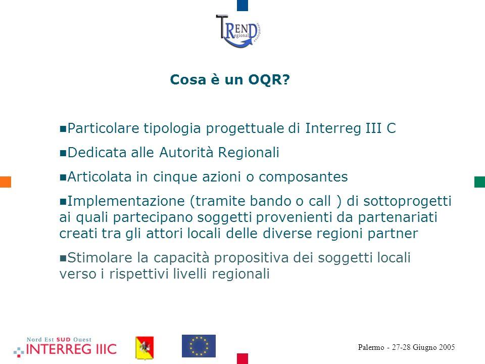 Palermo - 27-28 Giugno 2005 Cosa è un OQR.