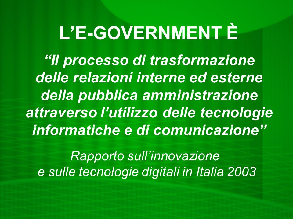LE-GOVERNMENT NELLA PA ANTONIO LE DONNE Segretario generale e direttore generale Comune di Capannori (LU)
