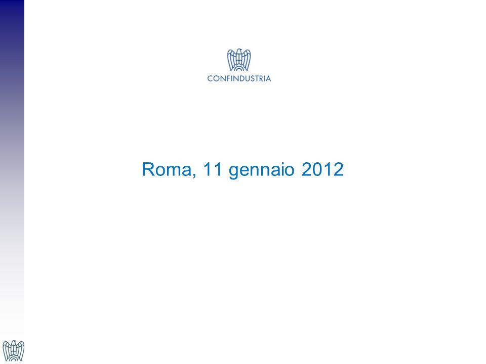 Roma, 11 gennaio 2012