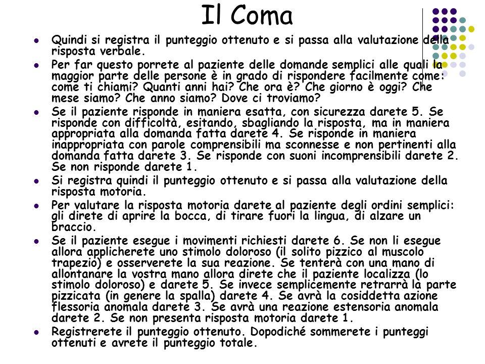 Quali sono le cause del coma.Un coma può essere provocato da numerosissime cause.
