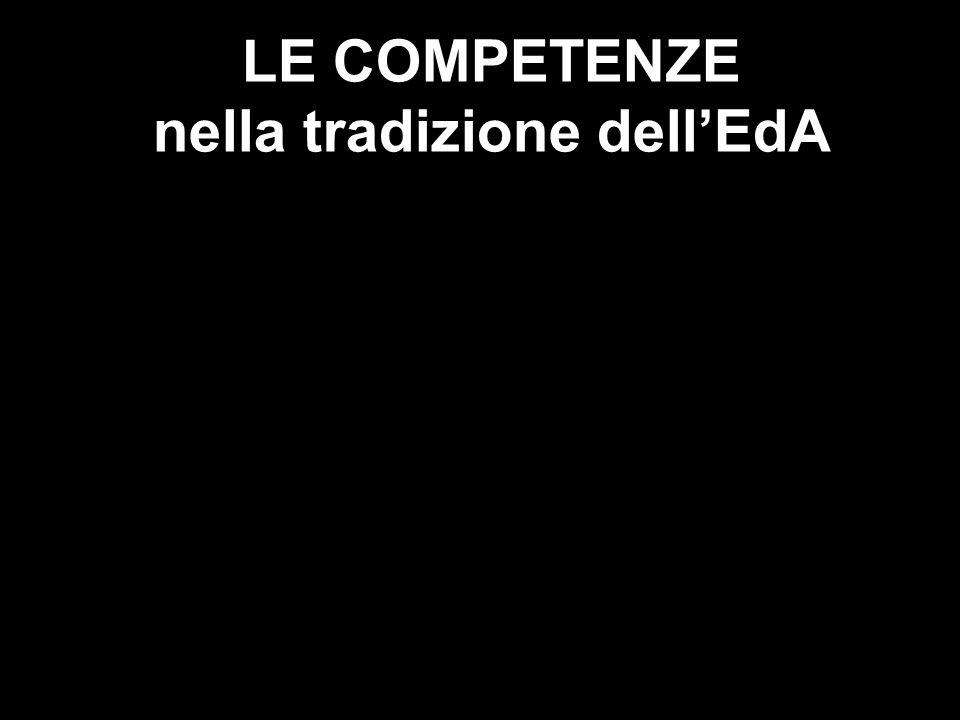 mirella baratelli2 LE COMPETENZE nella tradizione dellEdA
