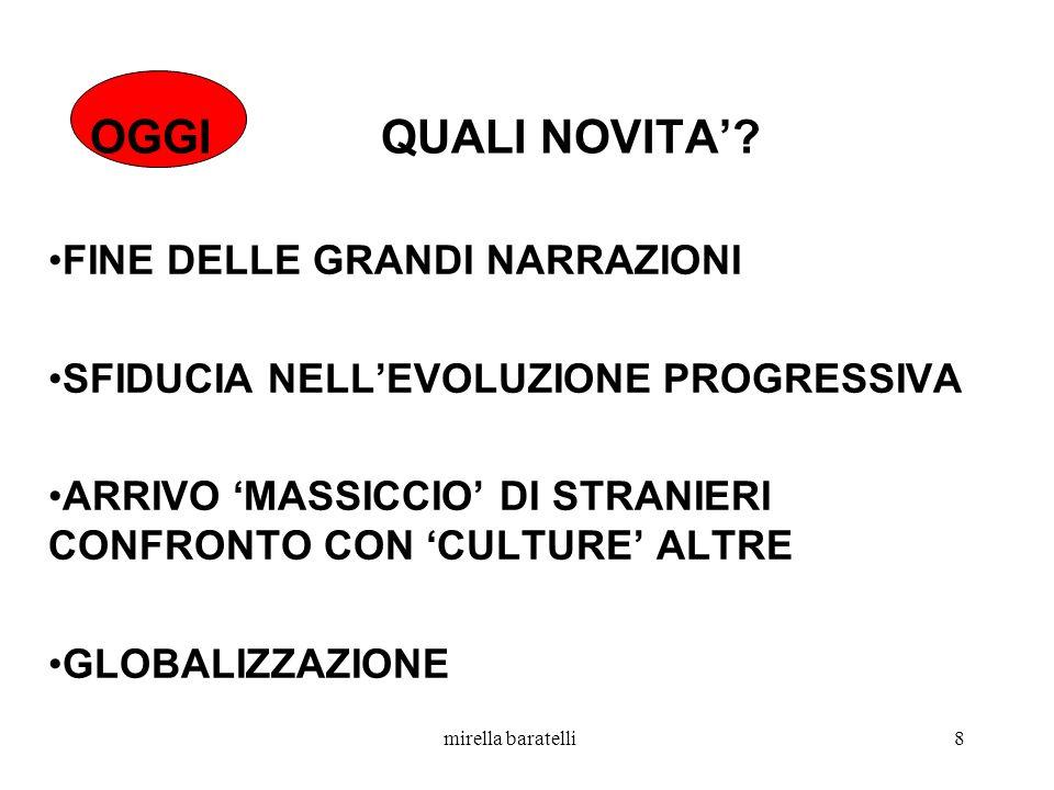 mirella baratelli8 OGGI QUALI NOVITA.