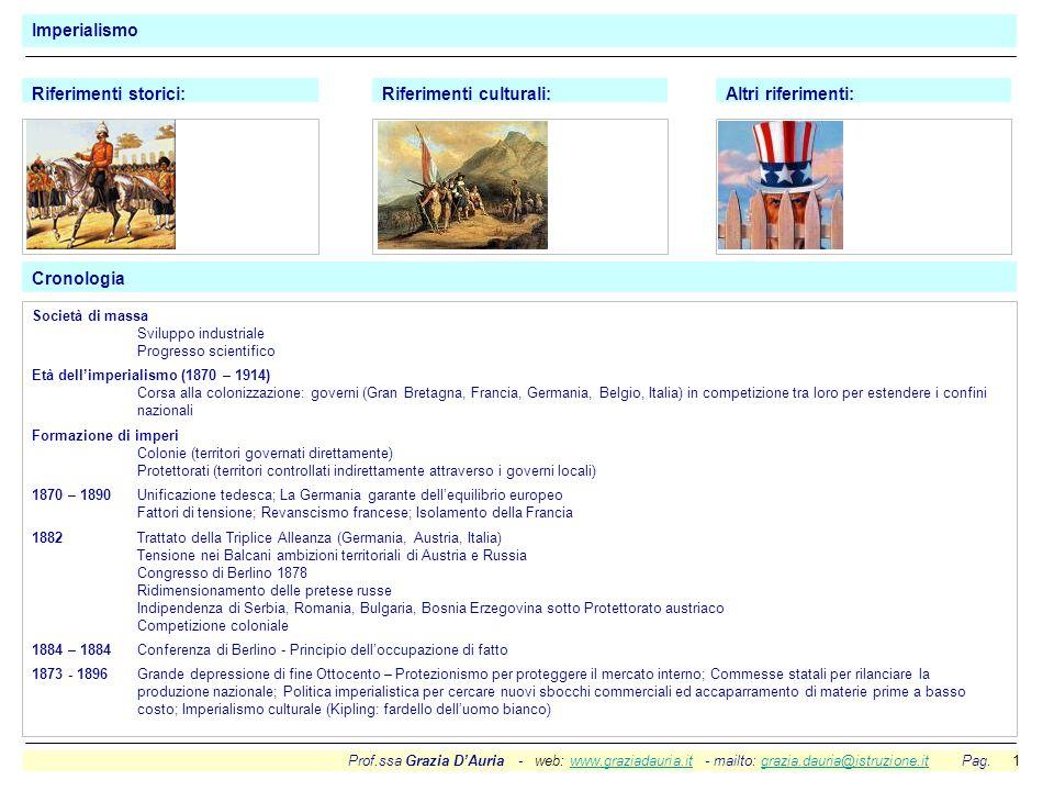 Prof.ssa Grazia DAuria - web: www.graziadauria.it - mailto: grazia.dauria@istruzione.it Pag. 1www.graziadauria.itgrazia.dauria@istruzione.it Imperiali