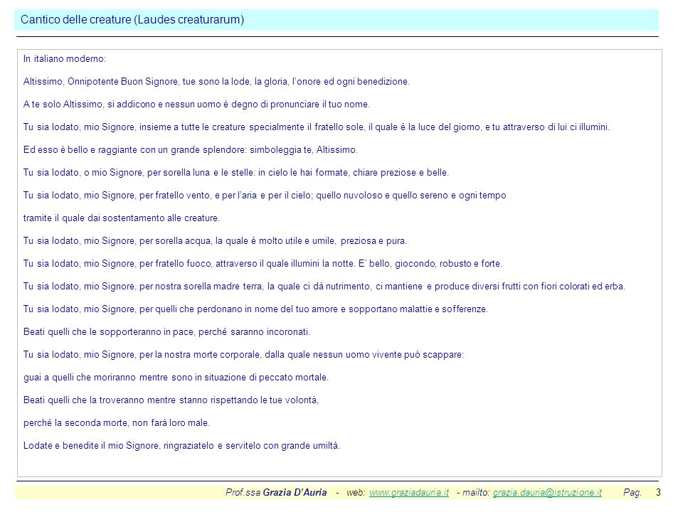 Prof.ssa Grazia DAuria - web: www.graziadauria.it - mailto: grazia.dauria@istruzione.it Pag. 3www.graziadauria.itgrazia.dauria@istruzione.it In italia