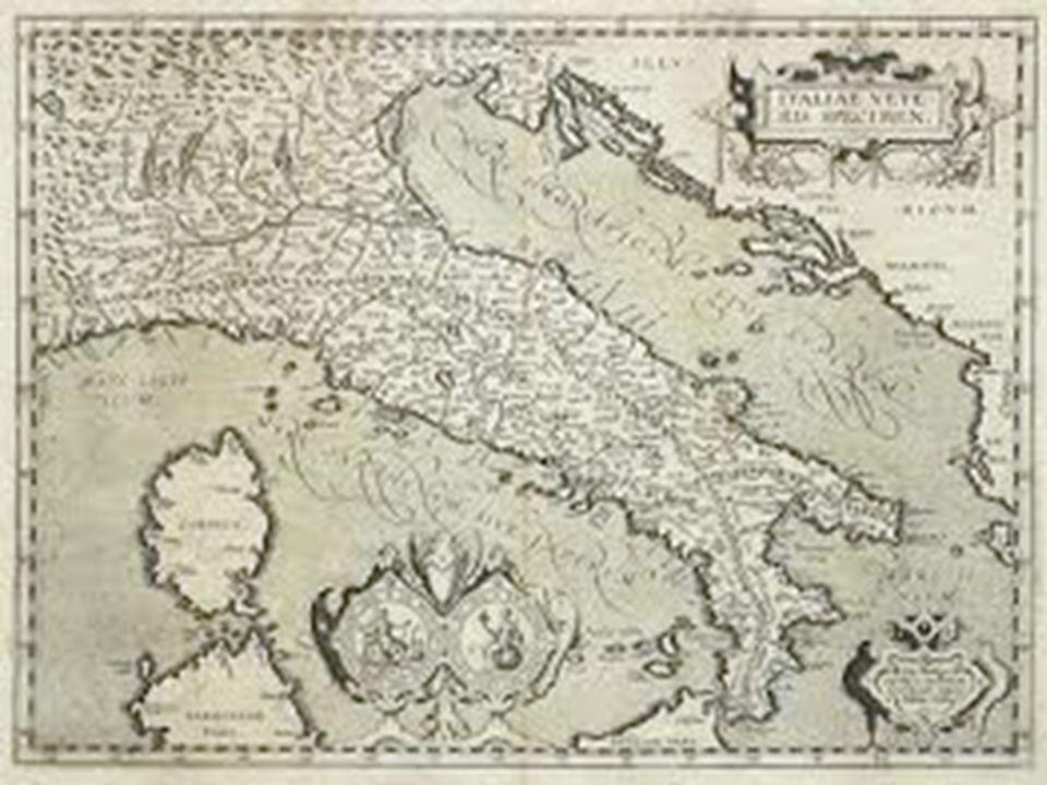 Una carta geografica è una rappresentazione di un territorio 1.