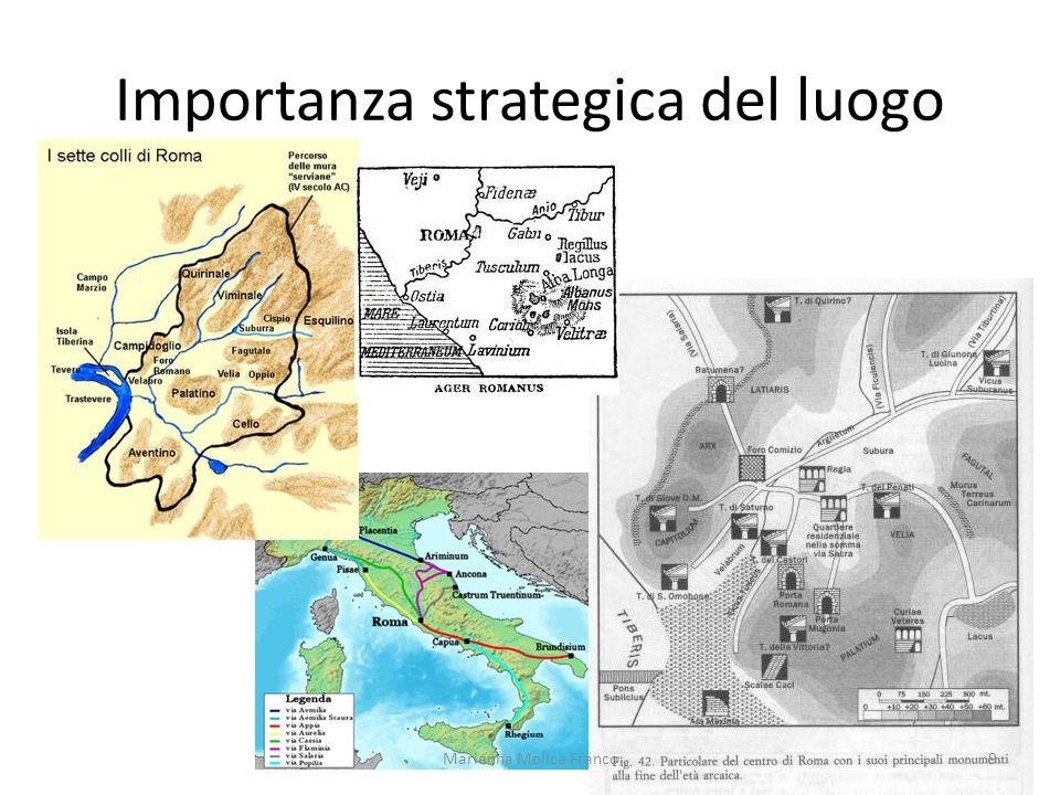 Importanza strategica del luogo 9Marianna Molica Franco