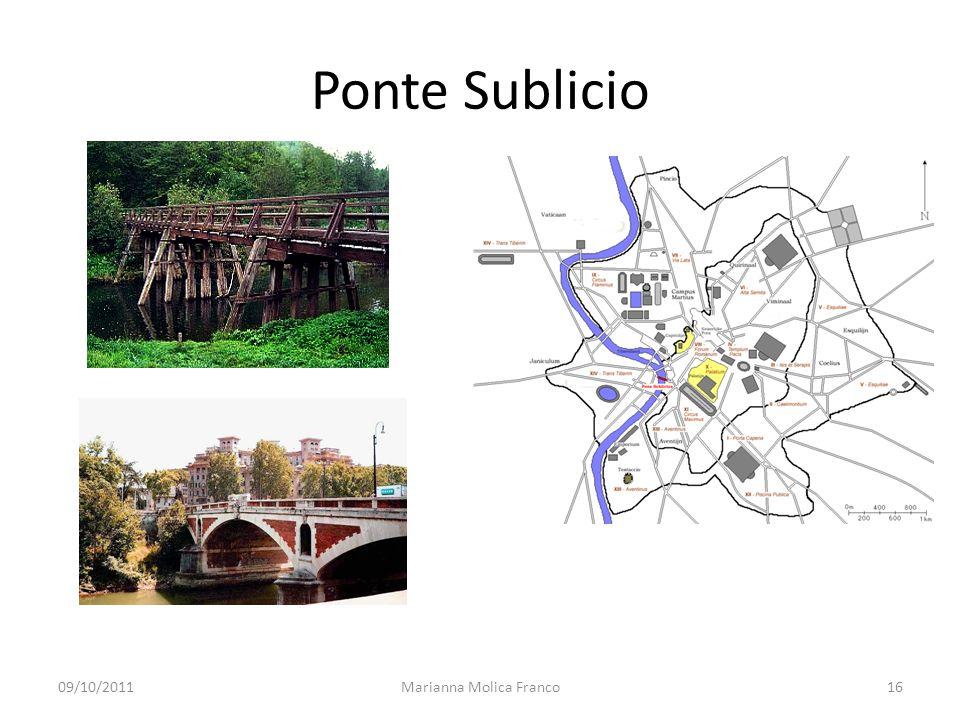 Ponte Sublicio 09/10/201116Marianna Molica Franco