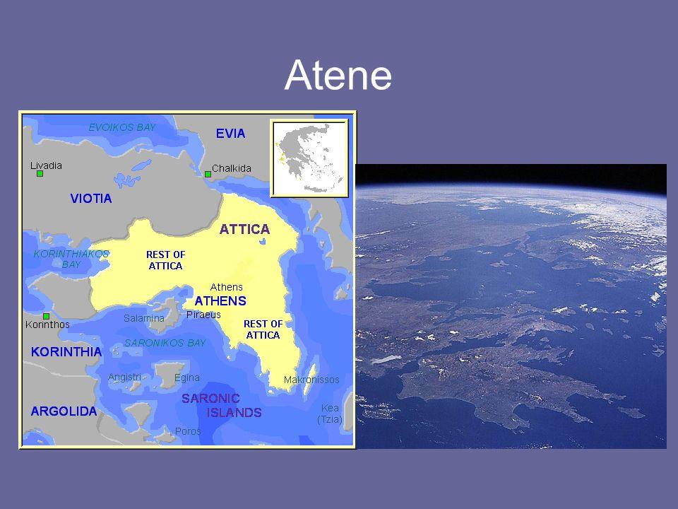In età micenea è un centro di media importanza Leggendario re Egeo, padre di Teseo Durante il medioevo ellenico i nobili tolgono progressivamente potere al re Fase oligarchica (costituzione aristocratica) VII sec.