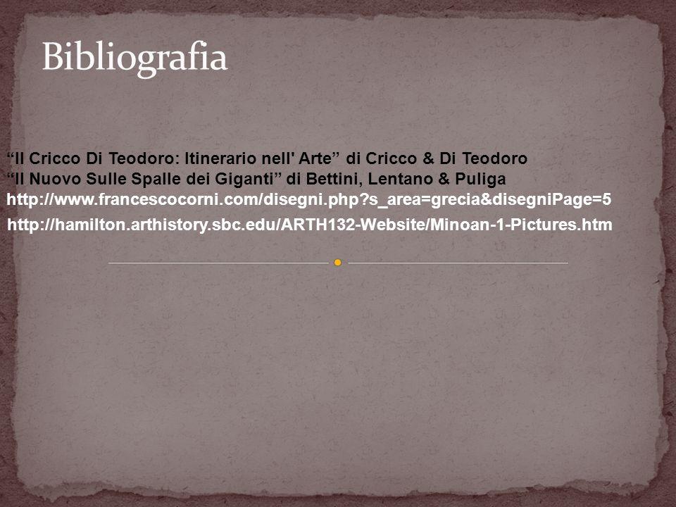 Il Cricco Di Teodoro: Itinerario nell' Arte di Cricco & Di Teodoro Il Nuovo Sulle Spalle dei Giganti di Bettini, Lentano & Puliga http://www.francesco