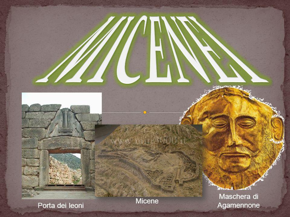 Micene Maschera di Agamennone Porta dei leoni