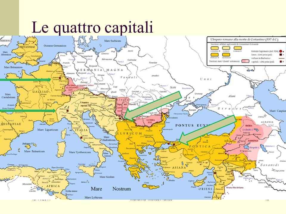 Le quattro capitali 15/11/2011 Marianna Molica Franco10