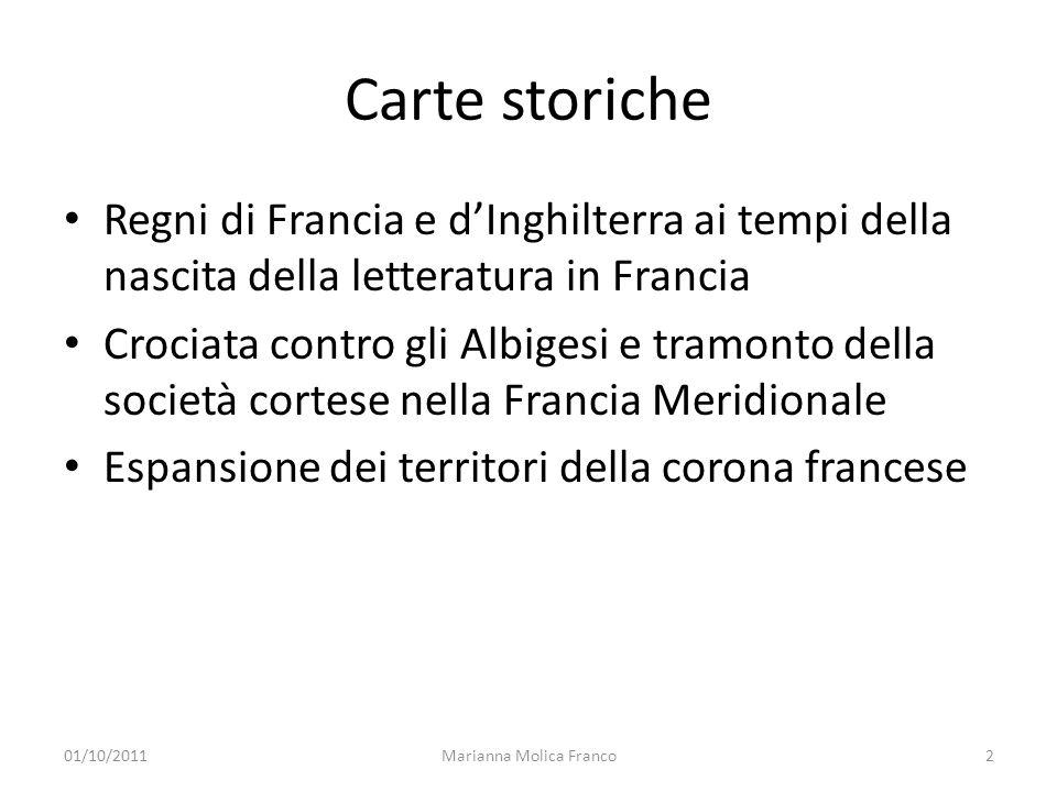 Francia nel X secolo Marianna Molica Franco3 http://it.wikipedia.org/wiki/Ducato_d Aquitania 01/10/2011