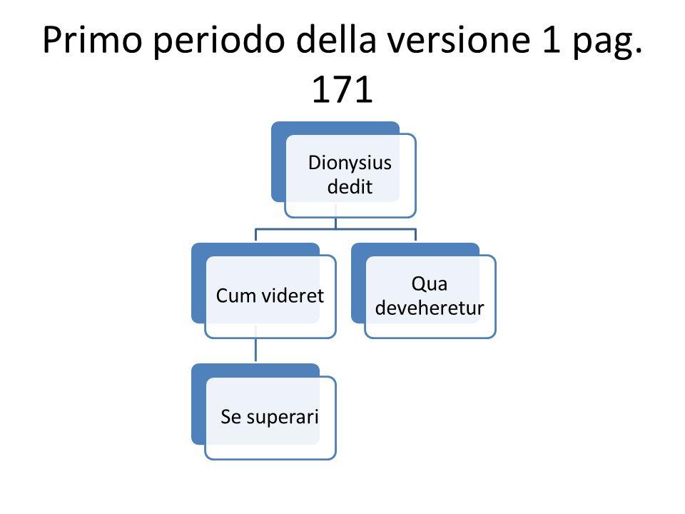Dionysius dedit Cum videretSe superari Qua deveheretur