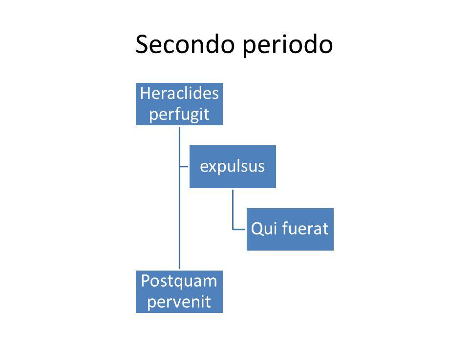 Heraclides perfugit Postquam pervenit expulsus Qui fuerat
