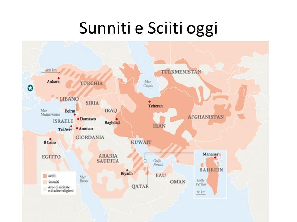 Sunniti e Sciiti oggi
