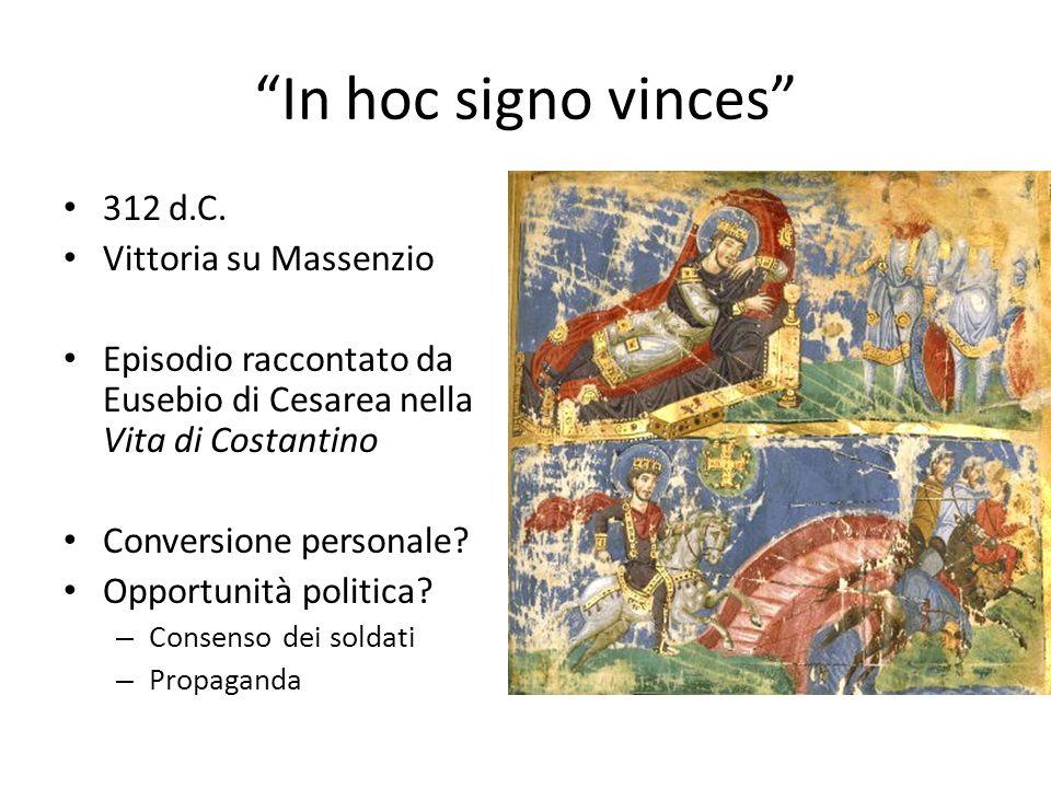 In hoc signo vinces 312 d.C.