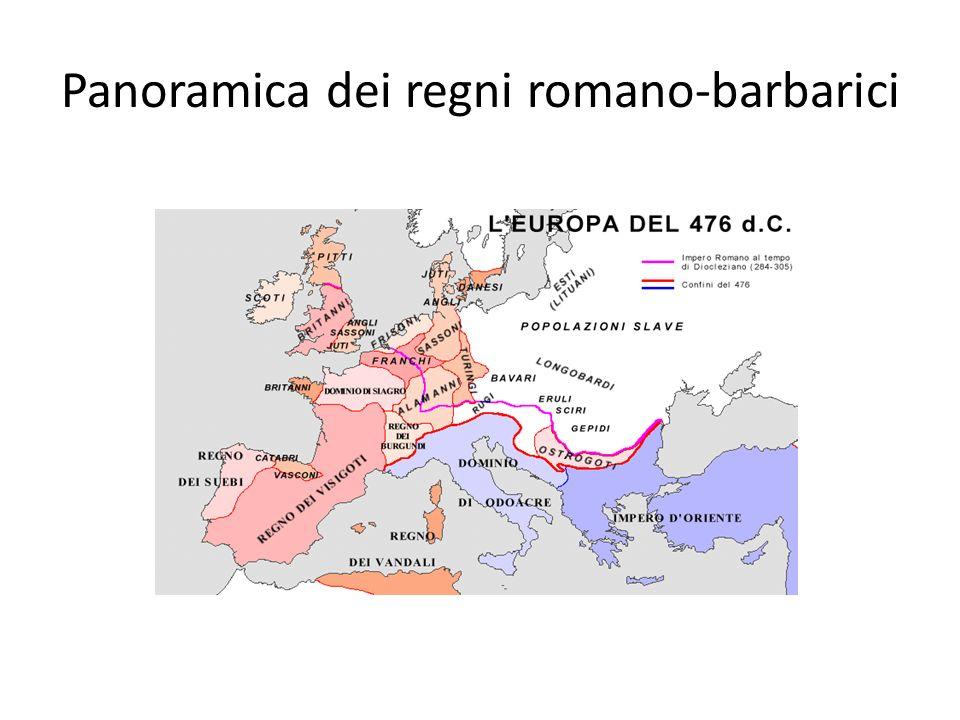 Panoramica dei regni romano-barbarici