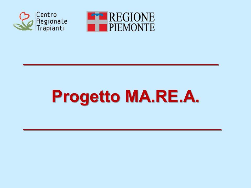 IL PROGETTO MA.RE.A.