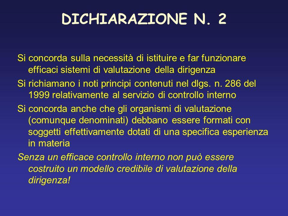 DICHIARAZIONE N.