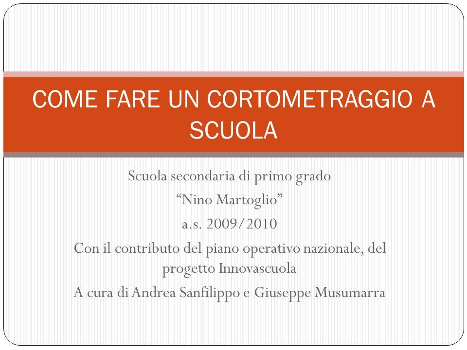 Scuola secondaria di primo grado Nino Martoglio a.s.