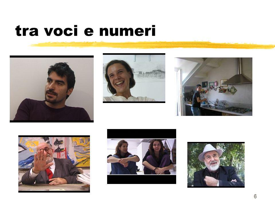 6 tra voci e numeri