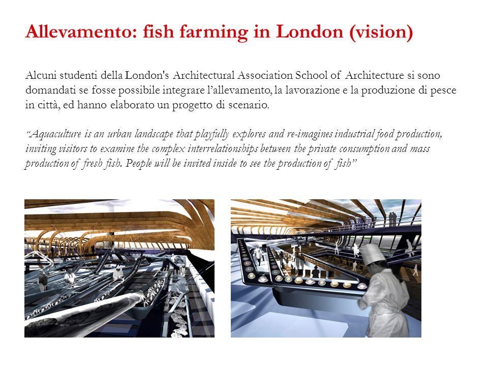 Alcuni studenti della London's Architectural Association School of Architecture si sono domandati se fosse possibile integrare lallevamento, la lavora