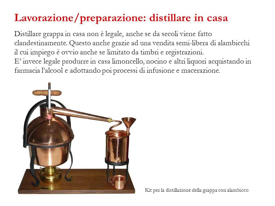 Distillare grappa in casa non è legale, anche se da secoli viene fatto clandestinamente. Questo anche grazie ad una vendita semi-libera di alambicchi