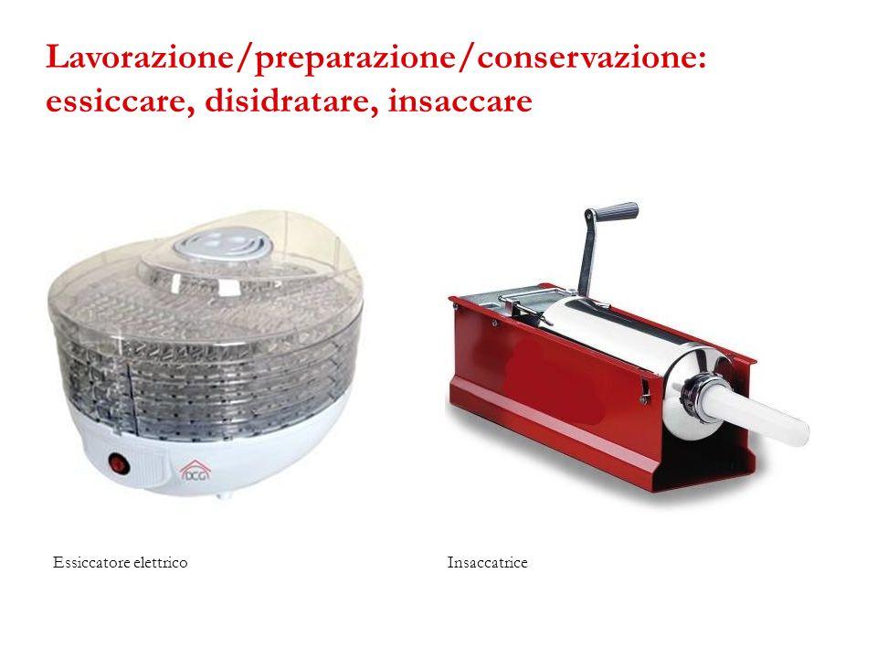 Essiccatore elettricoInsaccatrice Lavorazione/preparazione/conservazione: essiccare, disidratare, insaccare