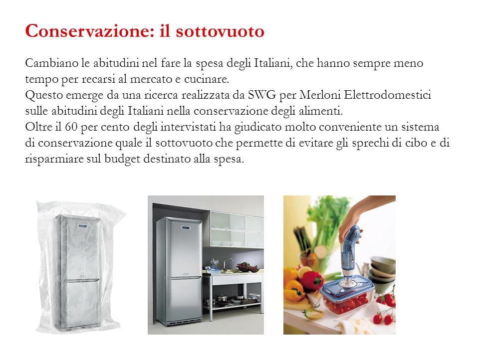 Cambiano le abitudini nel fare la spesa degli Italiani, che hanno sempre meno tempo per recarsi al mercato e cucinare. Questo emerge da una ricerca re