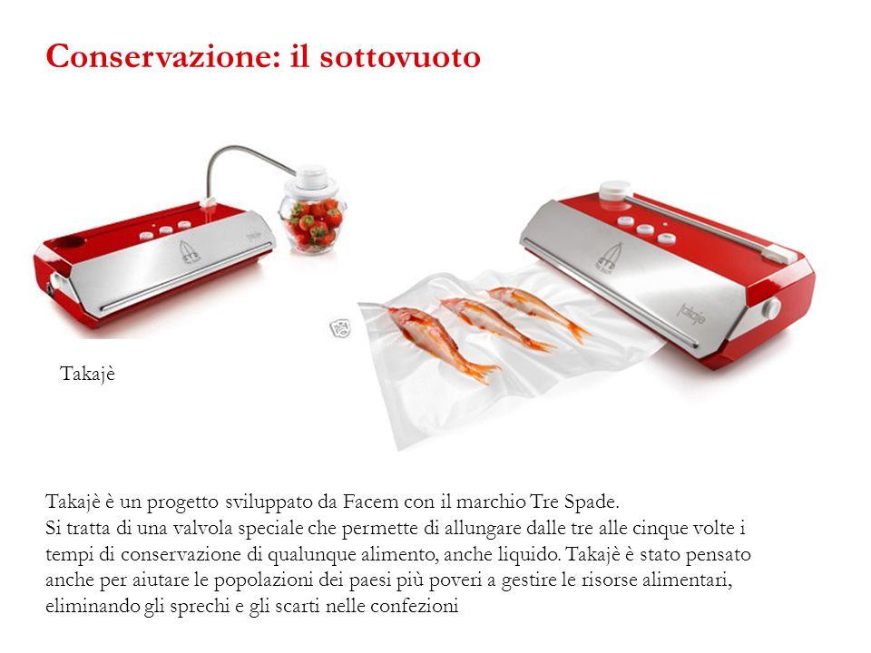 Takajè è un progetto sviluppato da Facem con il marchio Tre Spade. Si tratta di una valvola speciale che permette di allungare dalle tre alle cinque v