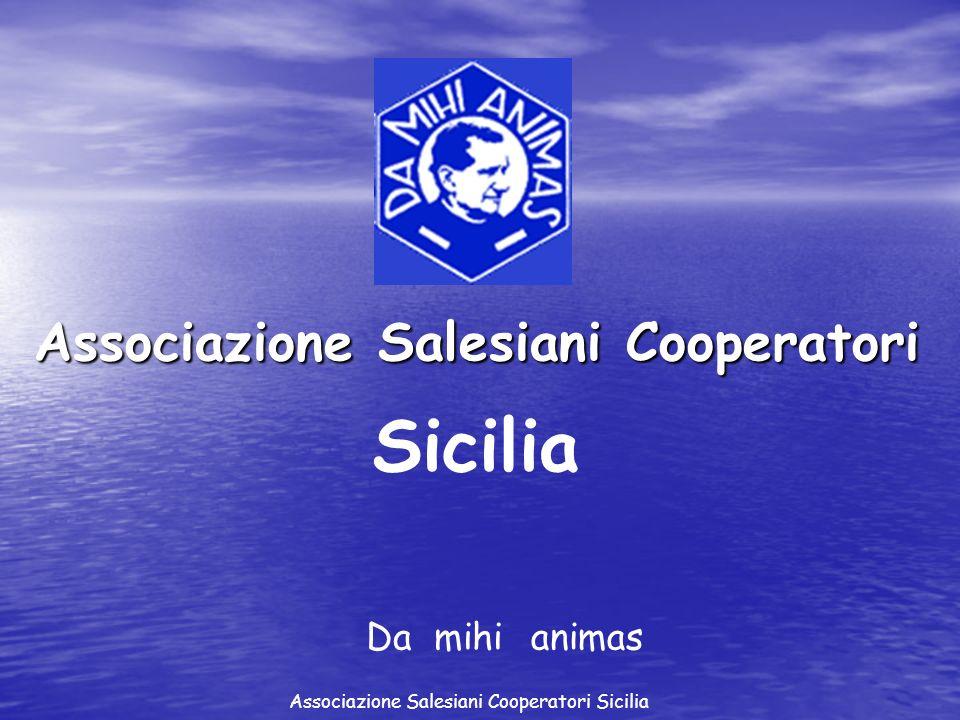 Associazione Salesiani Cooperatori Sicilia Damihianimas Associazione Salesiani Cooperatori Sicilia