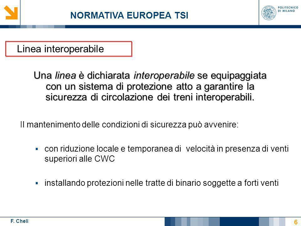 F.Cheli INDICE Introduzione al problema Prove in galleria del vento Coefficienti aerodinamici CWC Conclusioni LA CARATTERIZZAZIONE AERODINAMICA DELLETR500 37