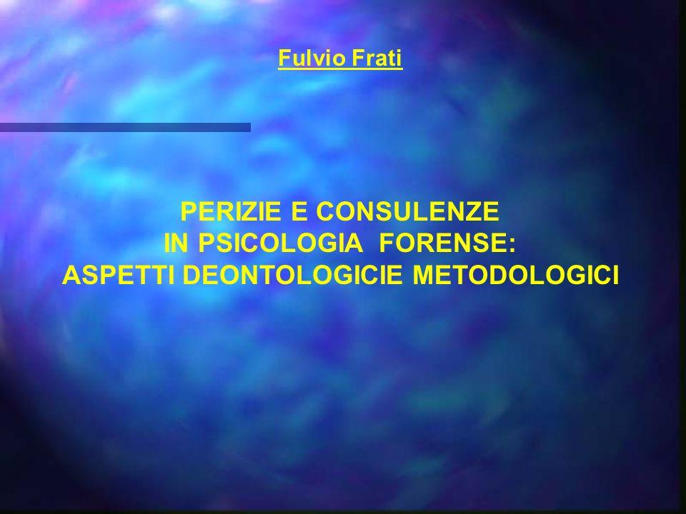 Lattività dello psicologo in ambito giuridico si esplica in almeno tre settori fondamentali di intervento: quello PENALE, quello CIVILE e quello MINORILE.