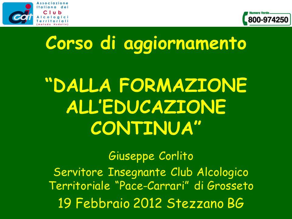 Corlito, Stezzano, 19.2.201212 LE CARATTERISTICHE DI PROCESSO LEEC è un processo di cui sono corresponsabili i Servitori Insegnanti e le famiglie.