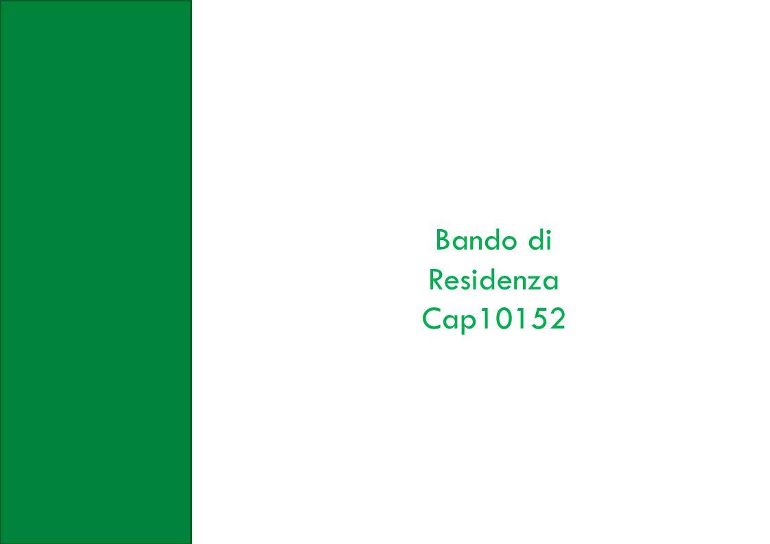 Bando di Residenza Cap10152