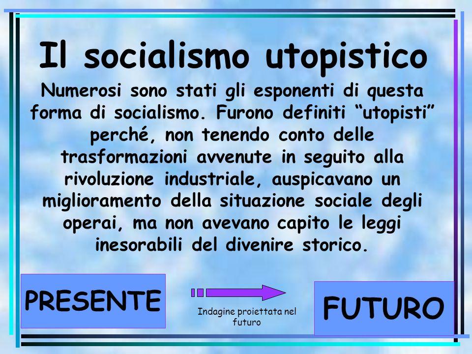 Il socialismo Il termine socialismo indica un ideologia politica fortemente interessata alla società. Nel XIX secolo il socialismo si afferma con vigo
