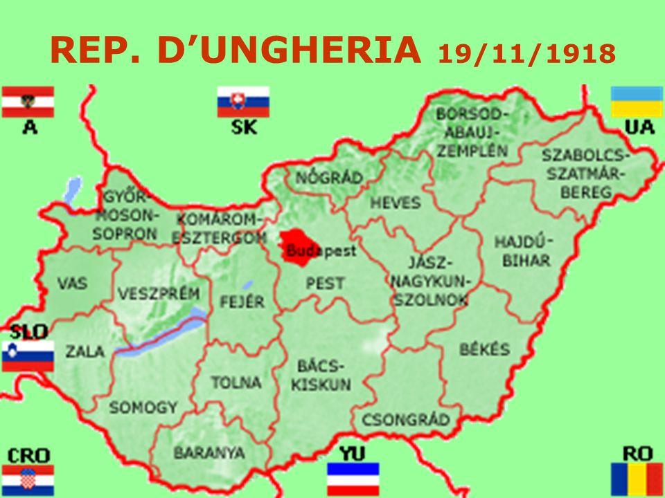 REP. DUNGHERIA 19/11/1918