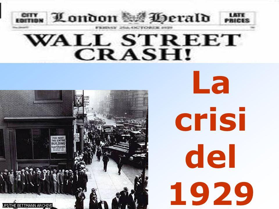 FENOMENO ECCEZIONALE LUNGHEZZA INTENSITA VASTITA CONSEGUENZE (economiche, politiche, sociali) E ANCHE UNA CRISI IDEALE E MORALE (Steinbeck, Chaplin, F.