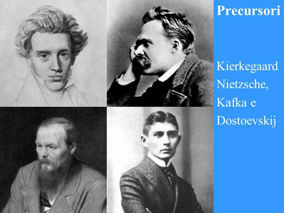 Precursori Kierkegaard Nietzsche, Kafka e Dostoevskij