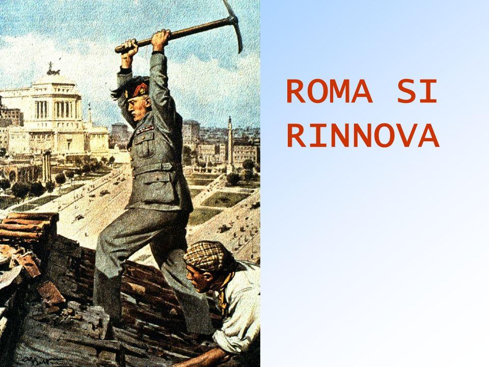 ROMA SI RINNOVA