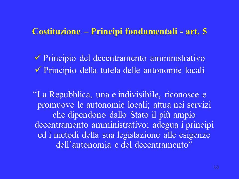 9 Fonti del diritto Con la partecipazione dellItalia allUnione Europea sono fonti primarie Regolamento comunitario (atto a portata generale ed astratt