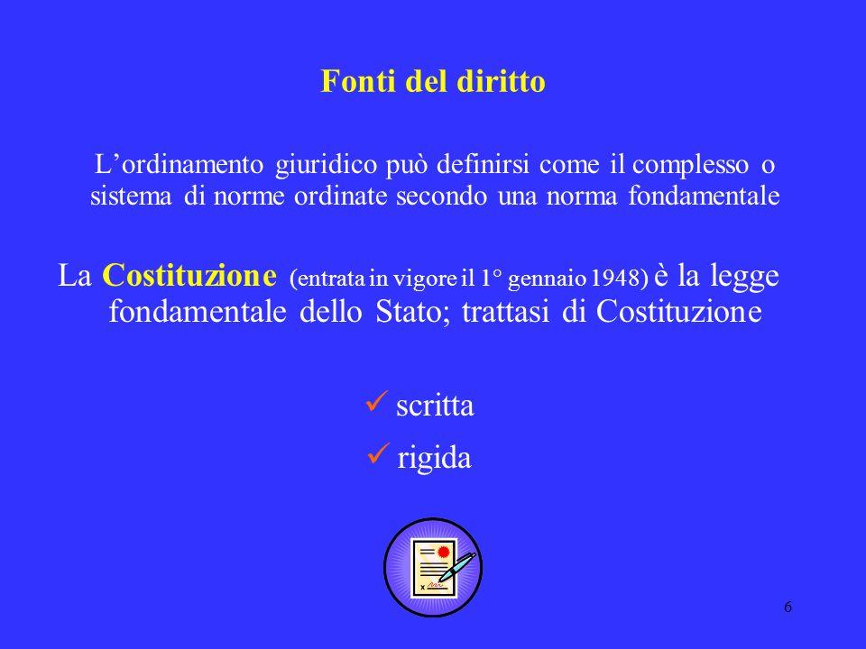 26 Anni 1997/2003 – La stagione delle riforme Testo fondamentale - Legge 15 marzo 1997, n.