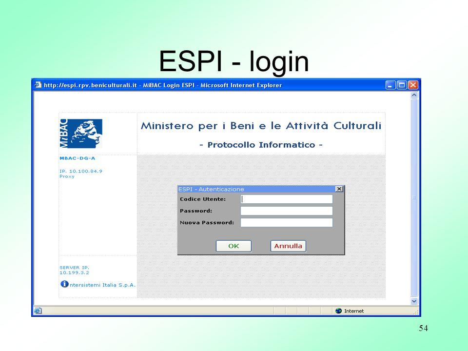 54 ESPI - login