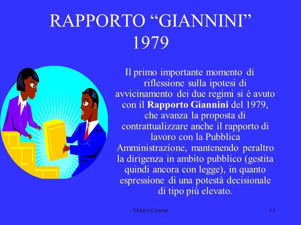 Mauro Cotone12 Problematica della sussistenza di REGIMI SEPARATI PRIVATO/PUBBLICO D.P.R.